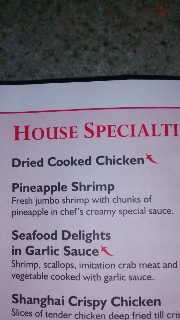 Menu Items Gone Bad