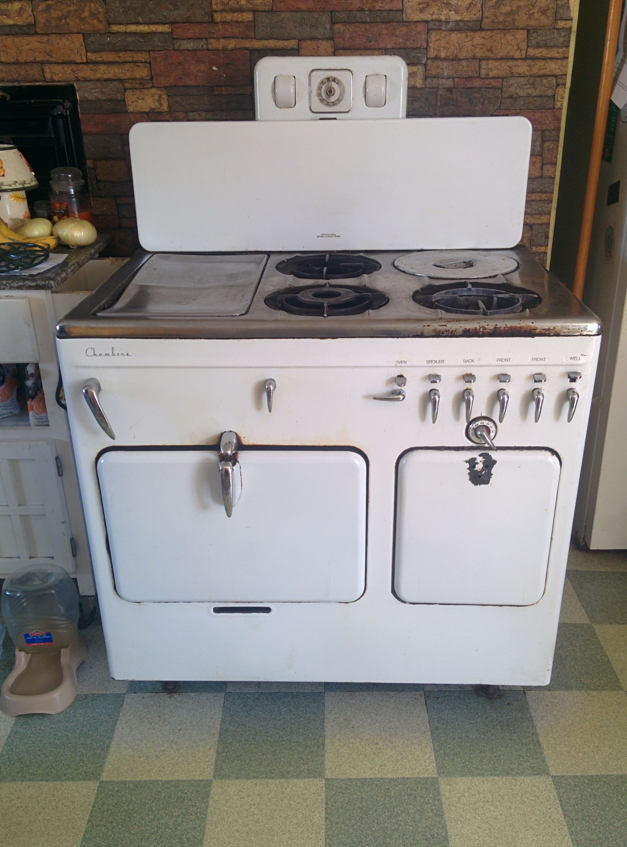 chambers stove   Blogging Around With The Original Domestic God